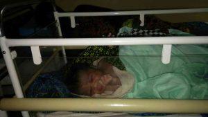 "Das erste Baby in ""Miriya"""